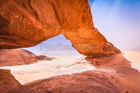 wadi rum jordan kharaz rock
