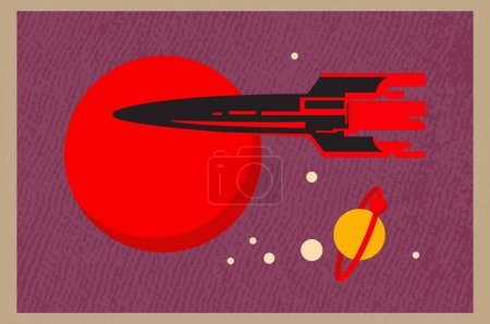 vector colorful illustration design space isolated