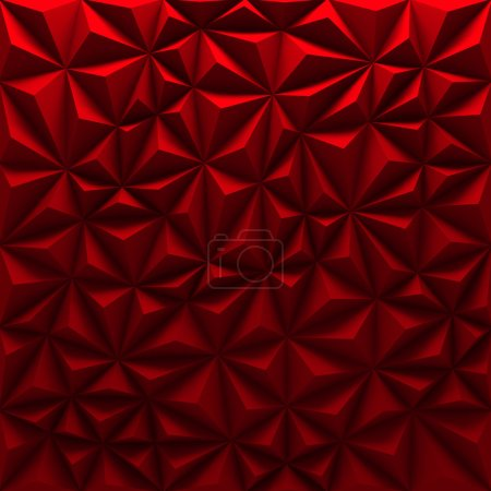 color red triangle background element diamond