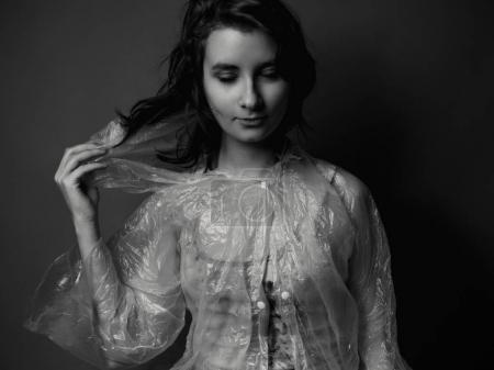 background, beautiful, studio, girl, female, young - B168308964