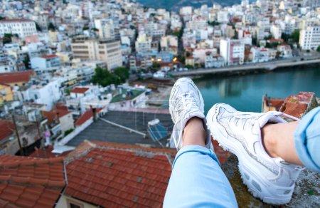 view horizontal high travel sitting freedom