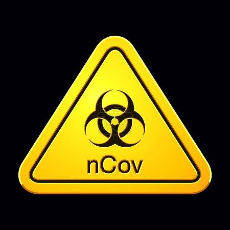 vector background shape sign risk danger