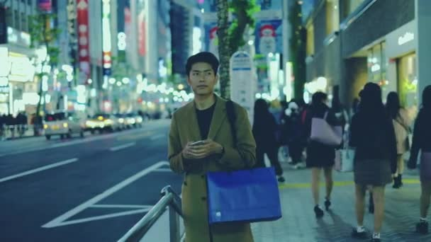 group nightlife blue shopping bag holding