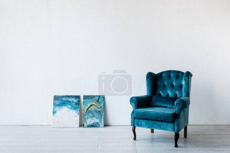 white blue background nobody luxury art