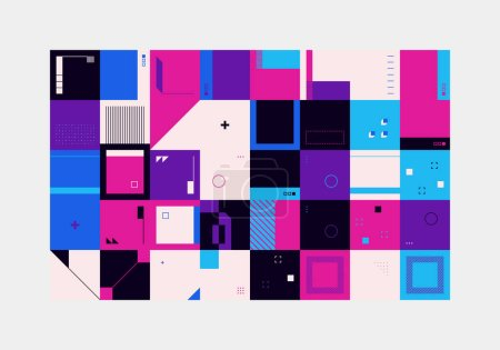 vector background vibrant graphic illustration design