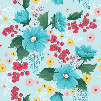flower floral pattern seamless wallpaper background