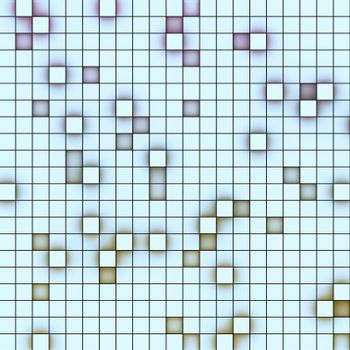 abstract 3d cube style background color