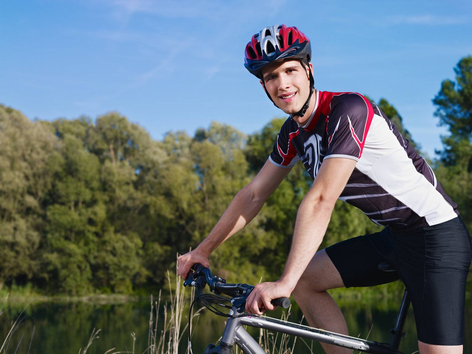 riding, bicycle, bike, biker, biking, man - D2550499