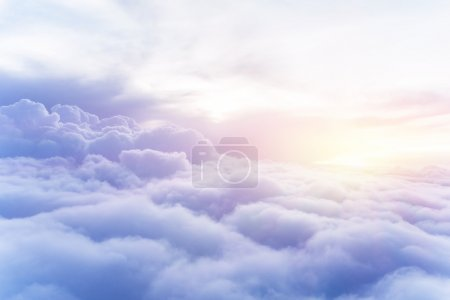 white, blue, background, on, view, sky - B49350765