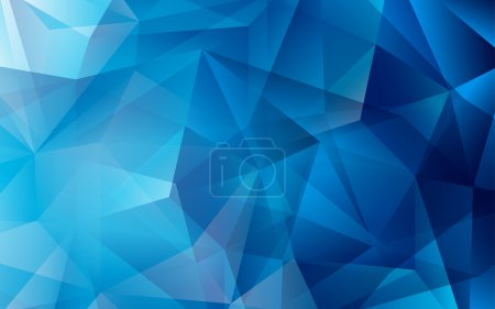color triangle white blue vector background