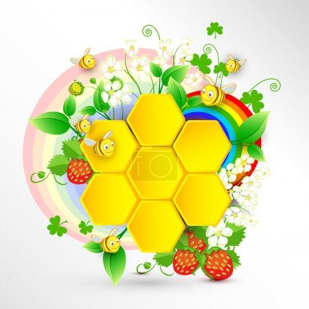 green, white, graphic, illustration, design, paper - B24474717