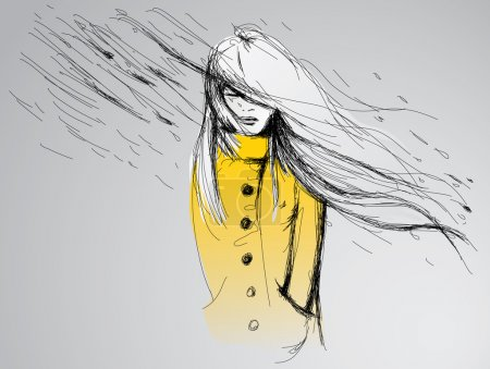 yellow white vector background illustration day