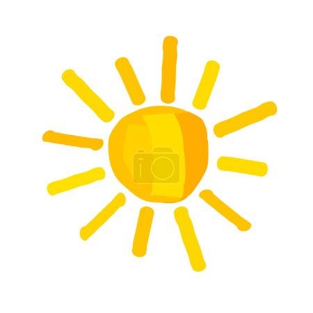 yellow vector element illustration design isolated