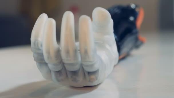 artificial power technology hand modern futuristic
