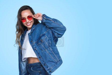 horizontal beautiful female young smiling joy
