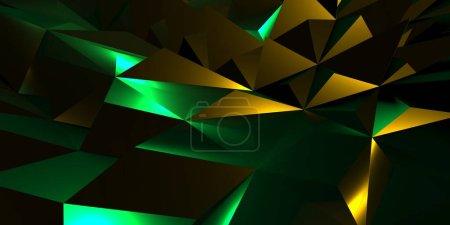 color triangle background graphic illustration design