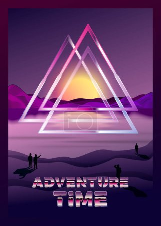 triangle vector background graphic illustration design