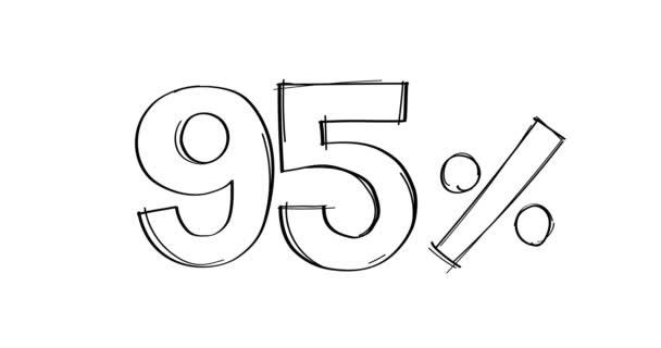 white background number illustration design set