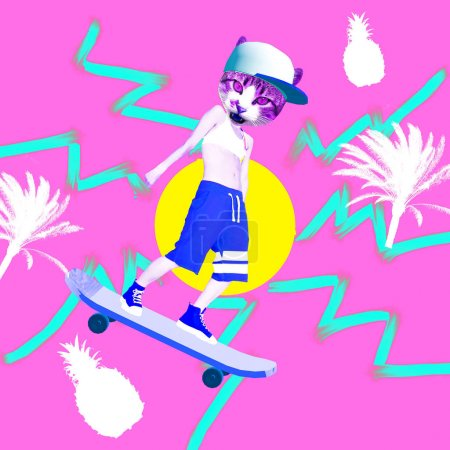 background design bright art summer abstract