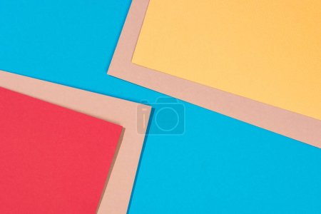 red yellow blue background nobody design