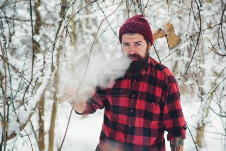 christmas young clothing tree male man