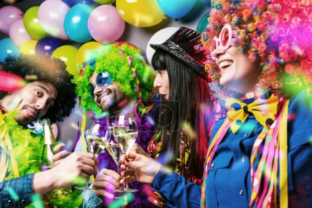 fun group background colorful beautiful birthday
