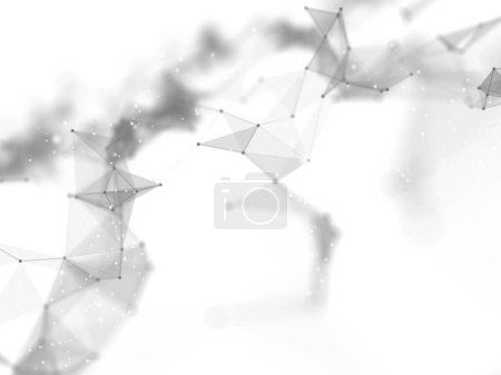 render illustration business abstract tech technology