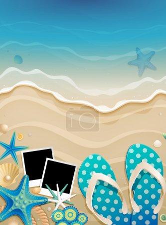 blue vector background on illustration design