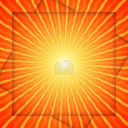 background circle illustration shiny bright summer