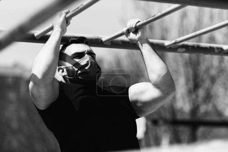 sport, beautiful, person, push, summer, outdoors - B498004932