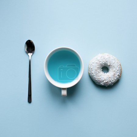 table color blue round background backgrounds