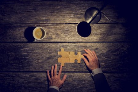 business, success, wooden, coffee, creativity, rustic - B83233746