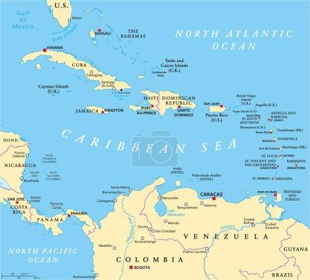 travel, coastline, capital, cruise, country, map - B75542481