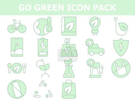 green white bag nature food plug