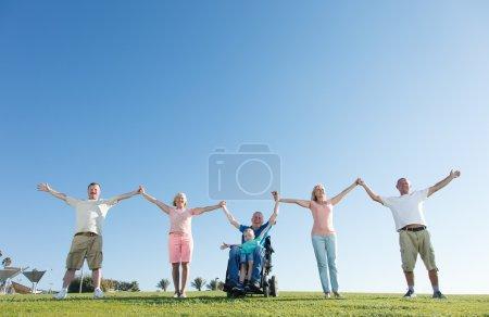fun, pursuit, group, large, recreational, happy - B54047237