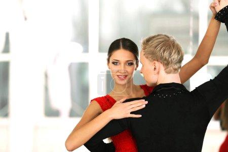 sport red background beautiful studio elegance