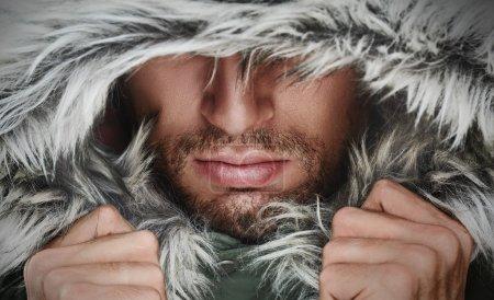 beautiful closeup person human one season