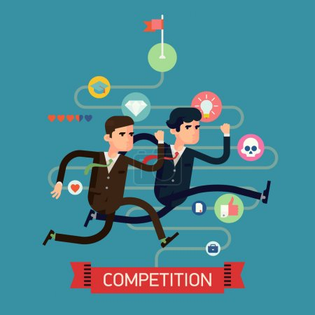 game, competition, vector, element, design, ribbon - B63886361