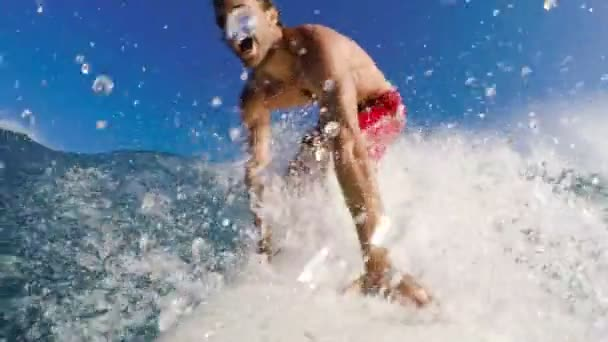 fun summer sports action male wave
