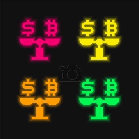 green, red, yellow, vector, money, business - B470900610