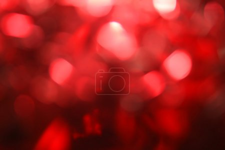 color fun image lights red background