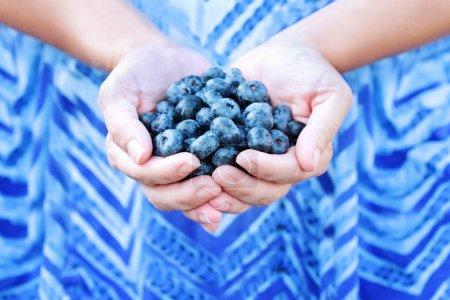 white blue on horizontal focus holding